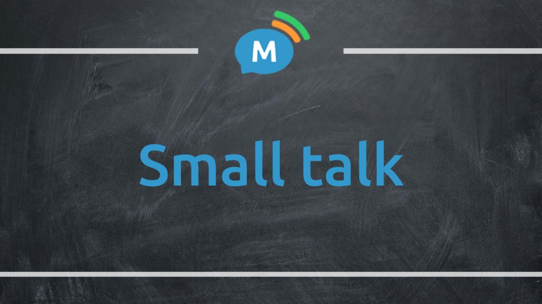 Искусство Small talk. Как завязать беседу на английском