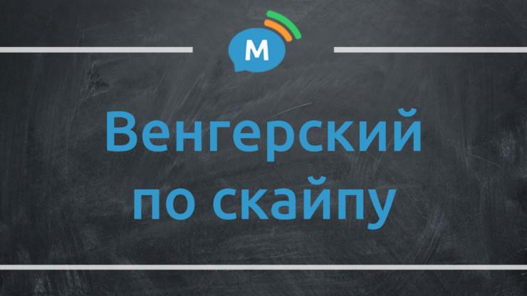 Изучение венгерского языка по скайпу с репетитором